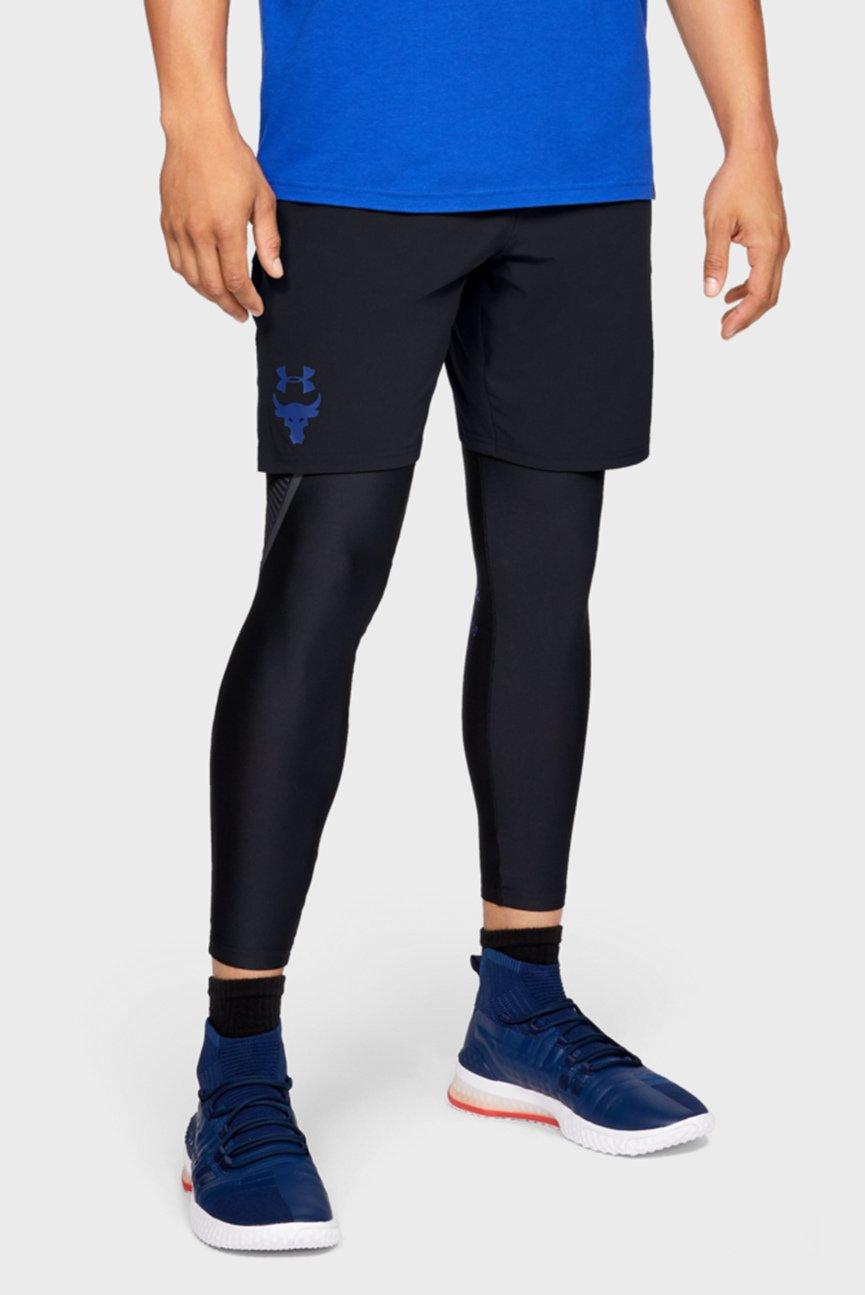 Мужские черные шорты PROJECT ROCK WOVEN SHORT