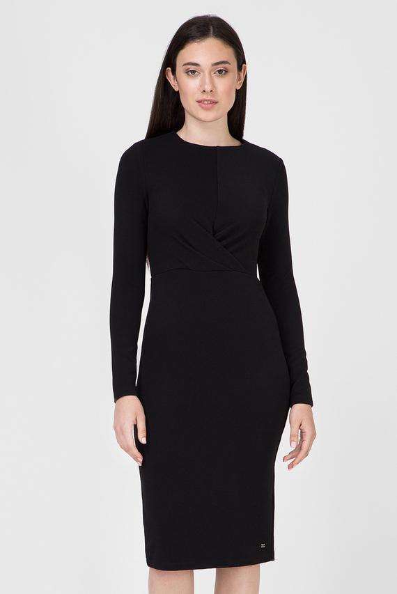 Женское черное платье BETH