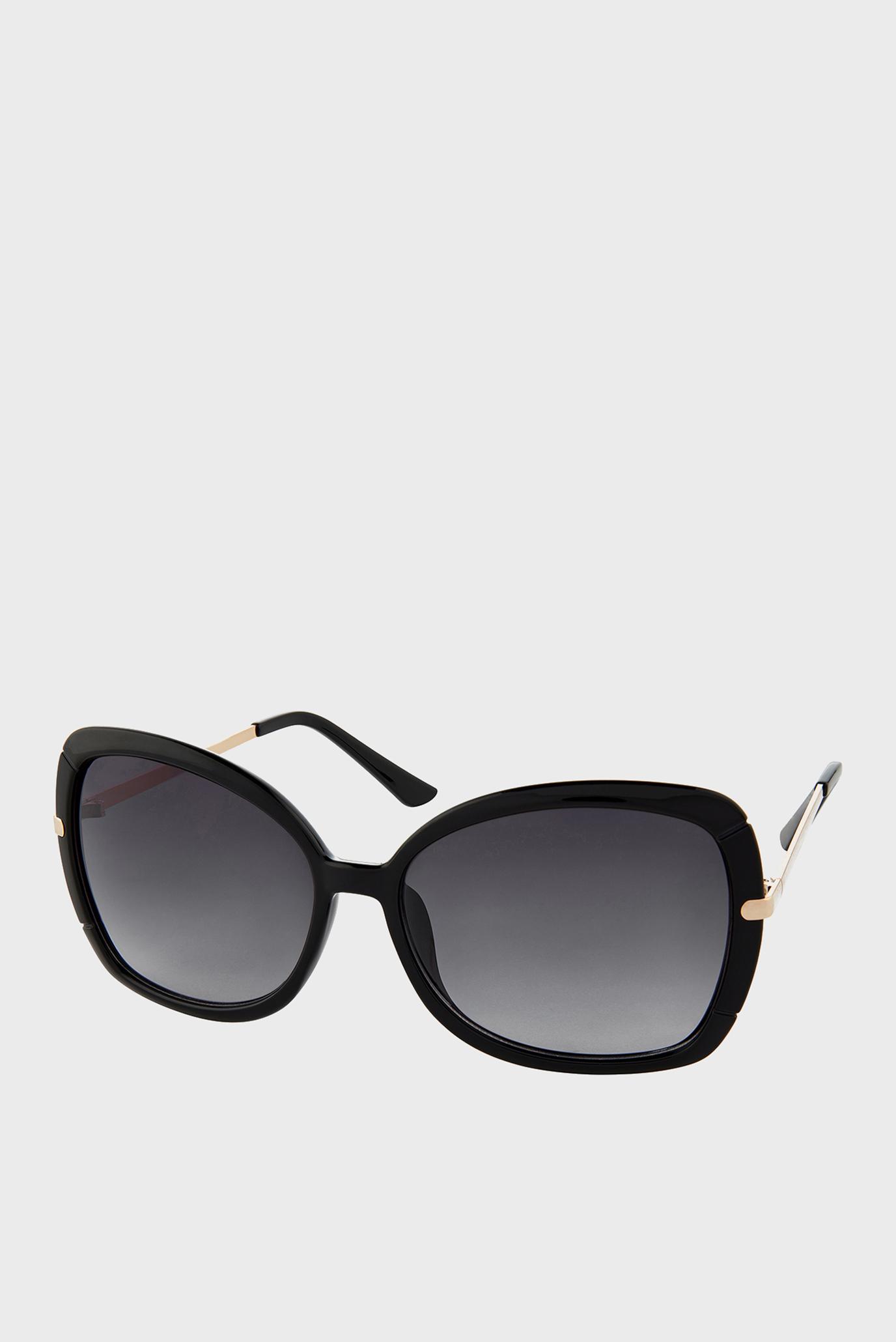 Жіночі чорні сонцезахисні окуляри SOPHIE OVERSIZED SQUARE 1