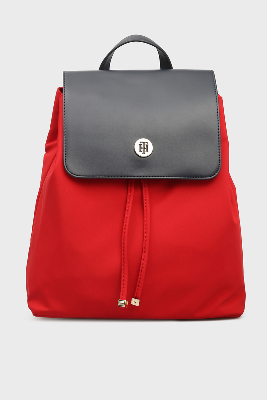 Женский красный рюкзак DRESSY NYLON BACKPACK