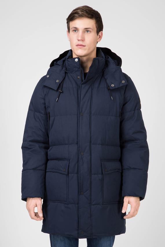 Мужская темно-синяя куртка LONG LENGTH