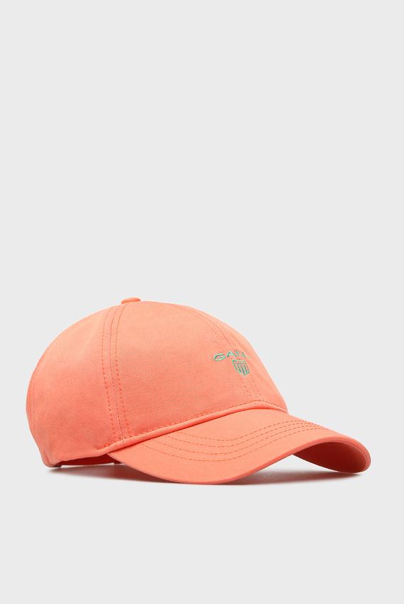 Женская оранжевая кепка