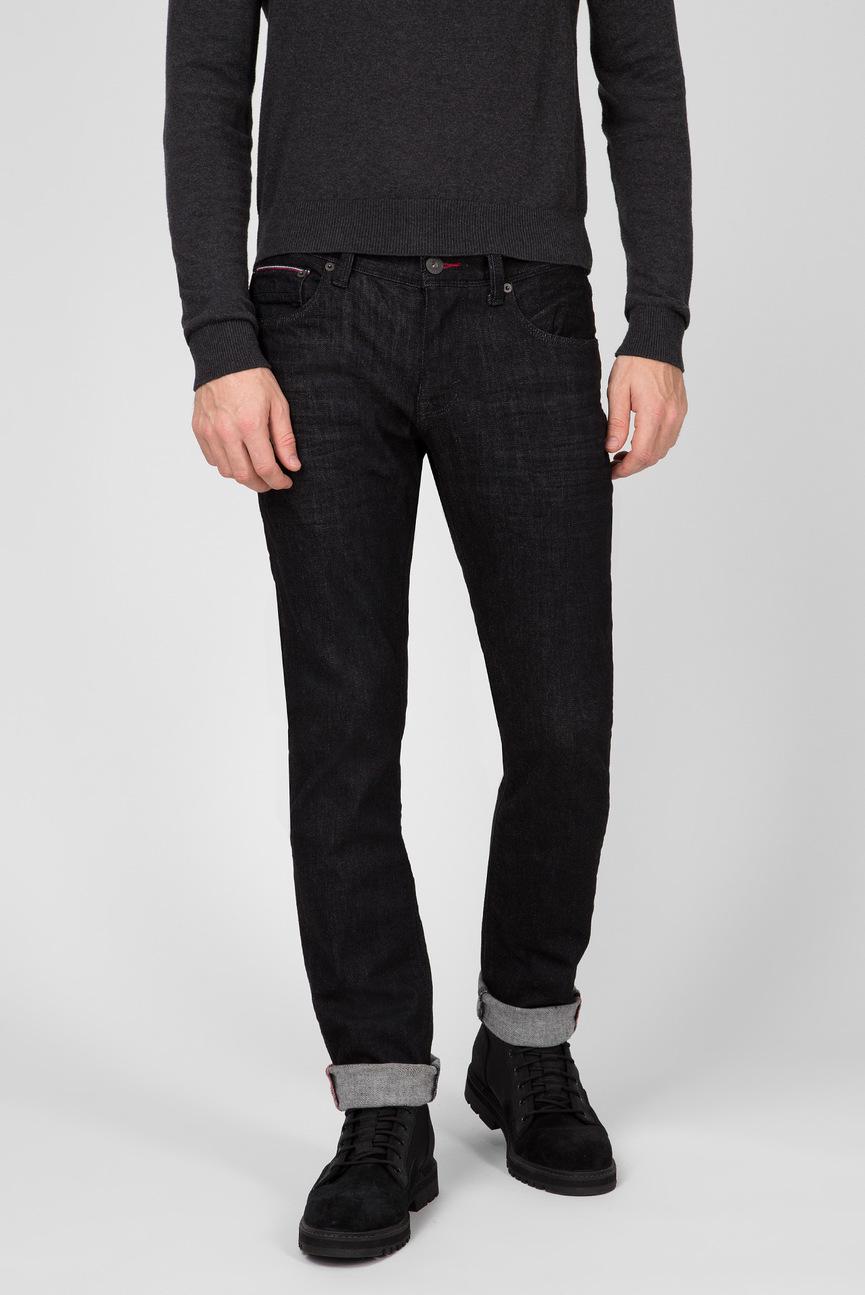 Мужские черные джинсы