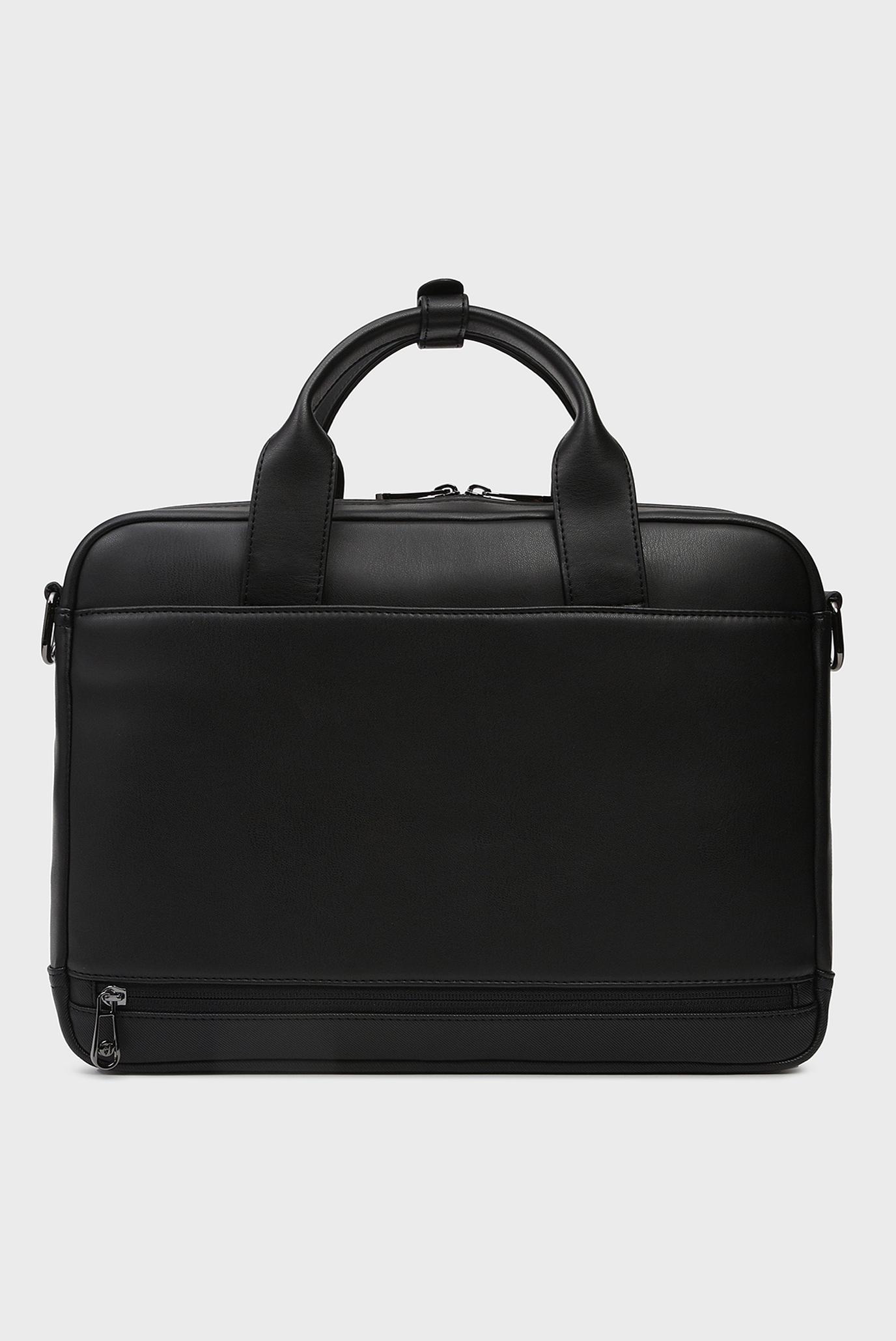 Купить Мужская черная сумка для ноутбука BUSINESS CITY Trussardi Jeans Trussardi Jeans 9Y099995/71B00170 – Киев, Украина. Цены в интернет магазине MD Fashion