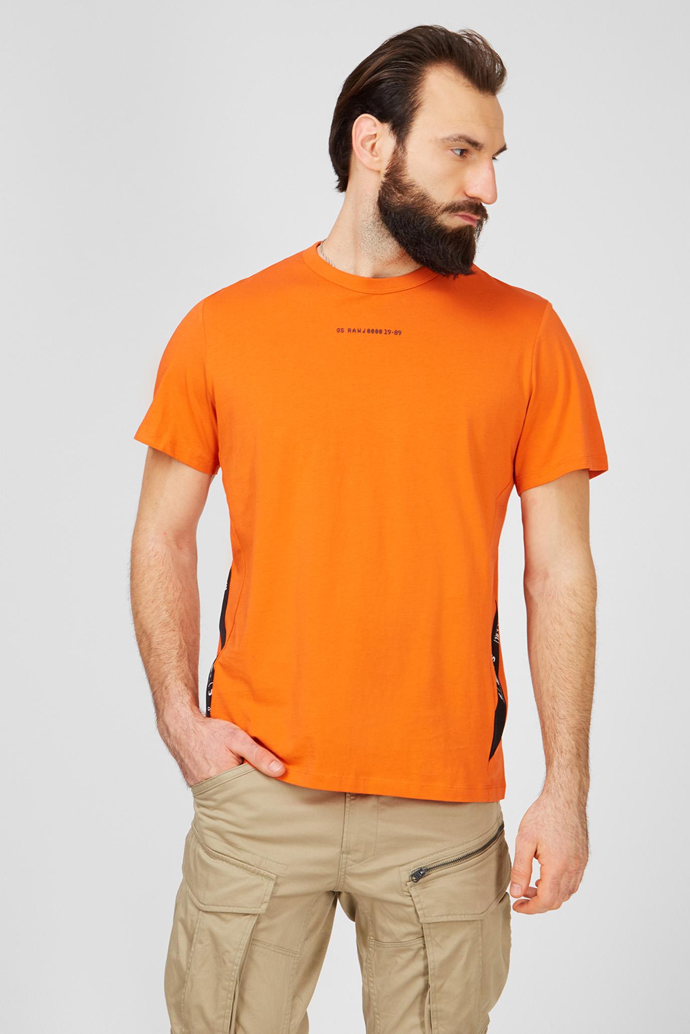 Мужская оранжевая футболка Sport 1