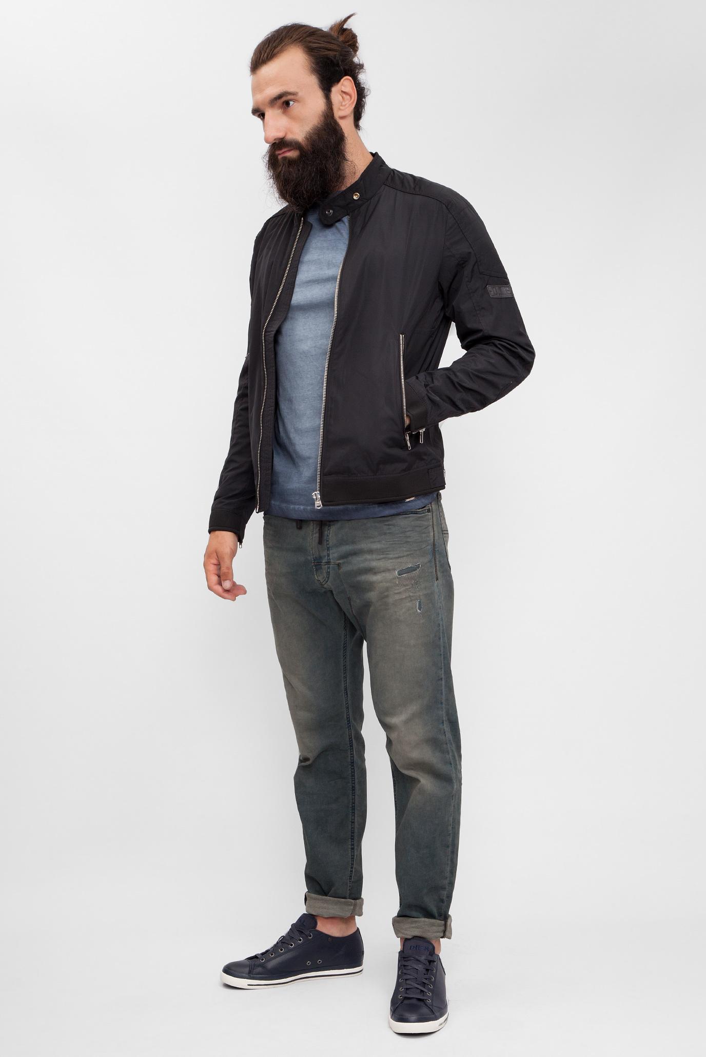Купить Мужские темно-синие джинсы NARROT-NE Sweat Jeans Diesel Diesel 00CZAK 0856Z – Киев, Украина. Цены в интернет магазине MD Fashion