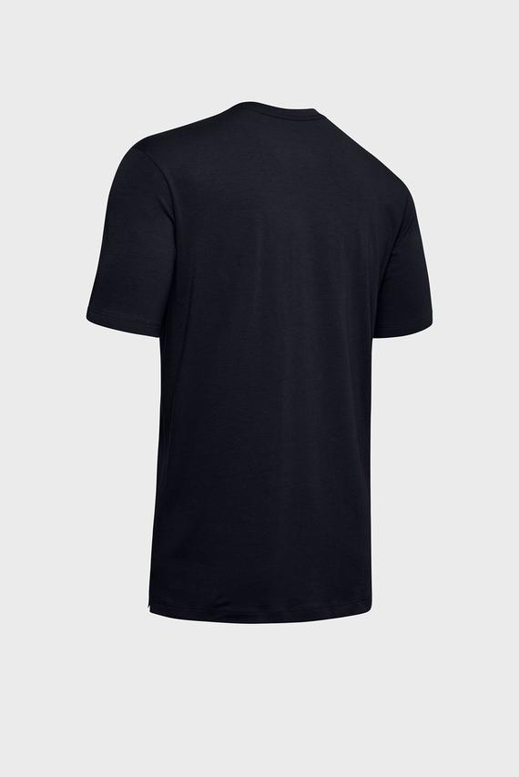 Мужская черная футболка SPORTSTYLE BLOCKED