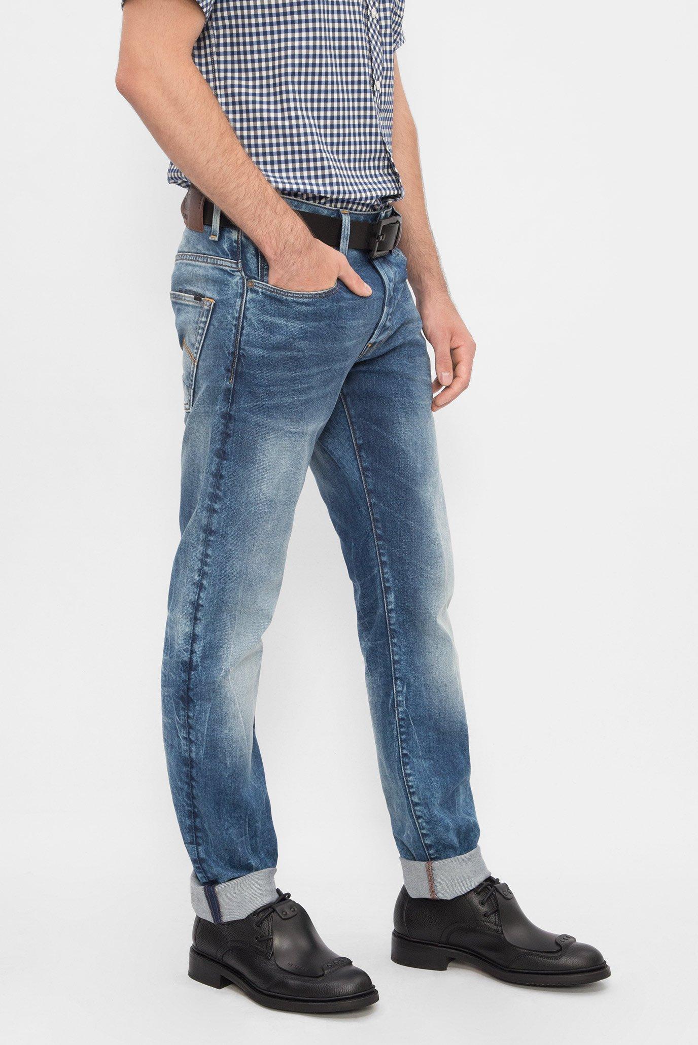 Купить Мужские синие джинсы G-Star RAW G-Star RAW 51001,8596 – Киев, Украина. Цены в интернет магазине MD Fashion