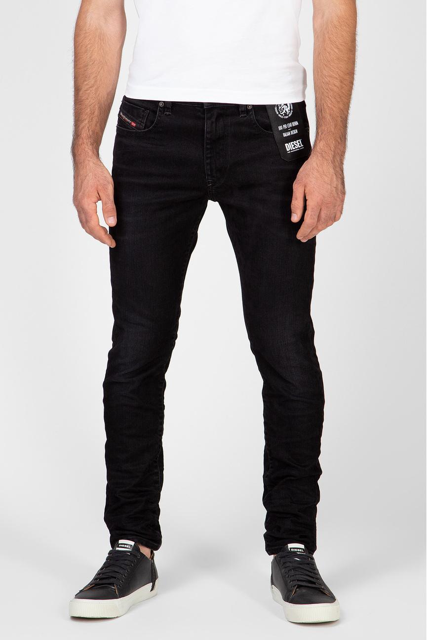 Мужские черные джинсы D-STRUKT