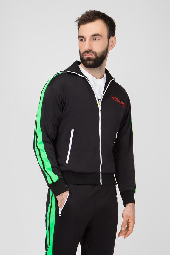 Мужская черная спортивная кофта S-HISOKA
