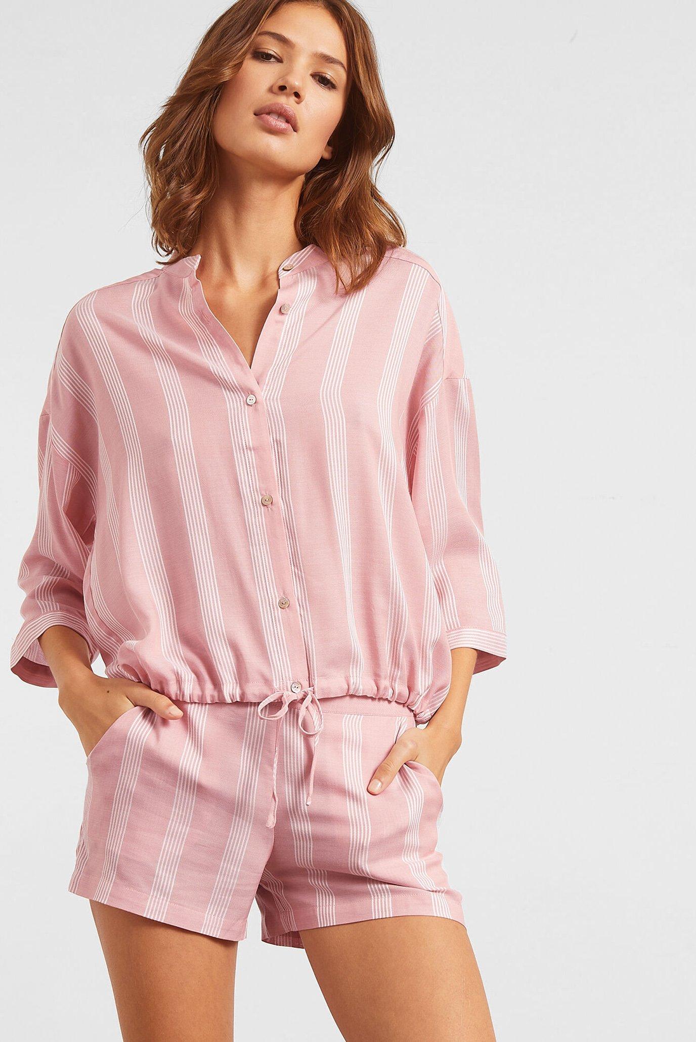 Женская розовая рубашка ANIL 1
