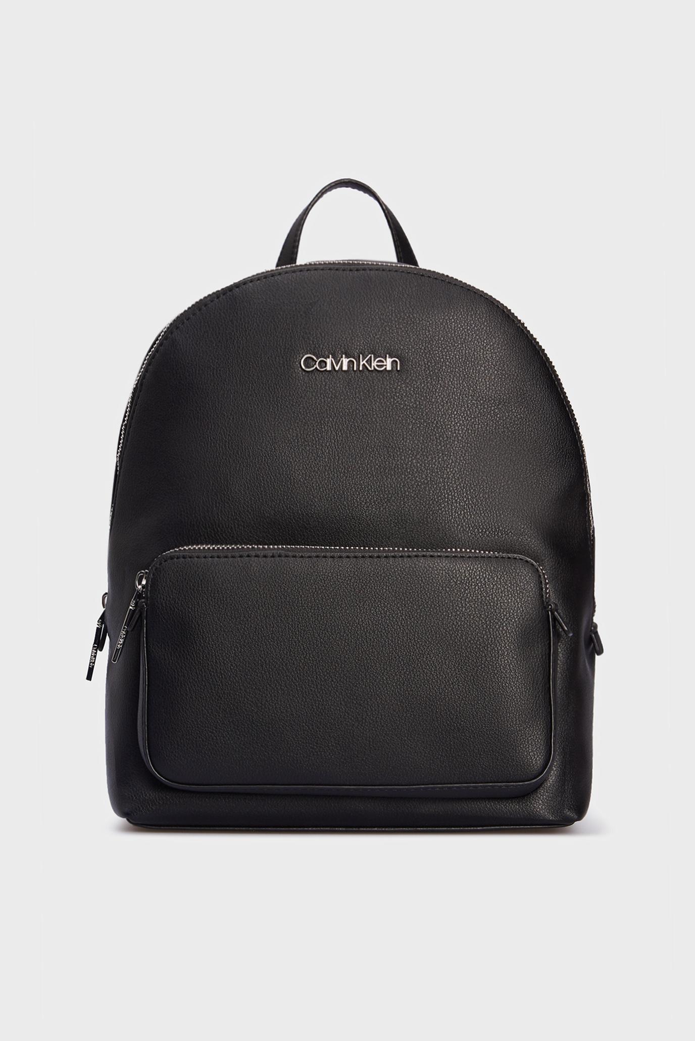 Женский черный рюкзак CAMPUS BP W/PCKT MD 1