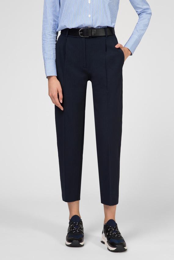 Женские темно-синие брюки TH ESSENTIAL TWILL