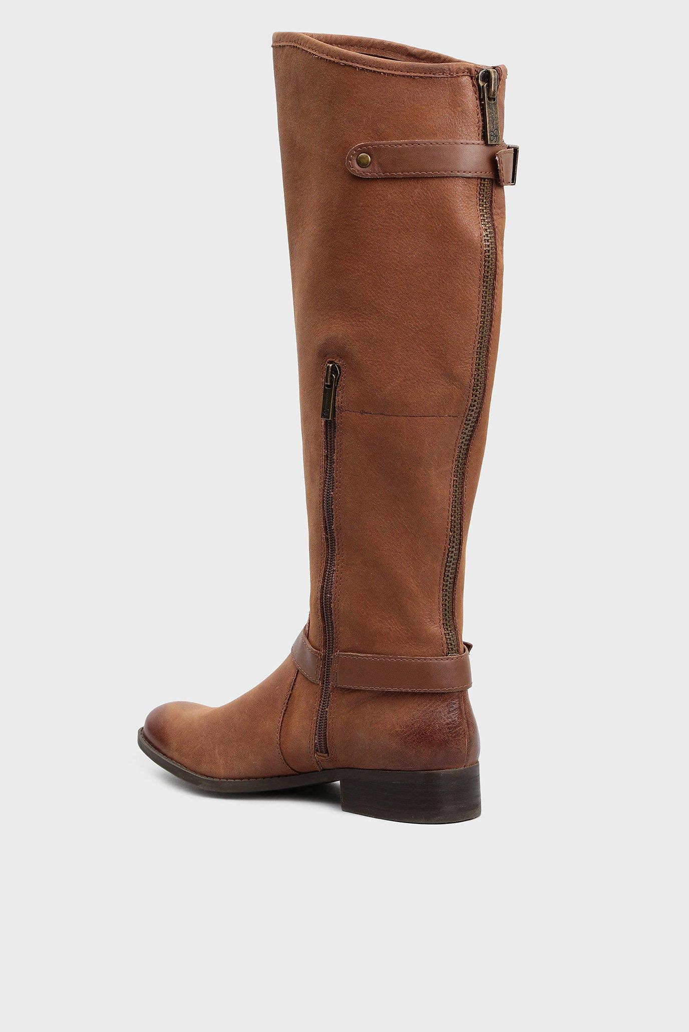 Купить Женские коричневые кожаные сапоги Jessica Simpson Jessica Simpson JS-RINNE/WINHZE – Киев, Украина. Цены в интернет магазине MD Fashion