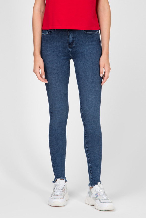 Женские темно-синие джинсы COMO SKINNY RW A MALA