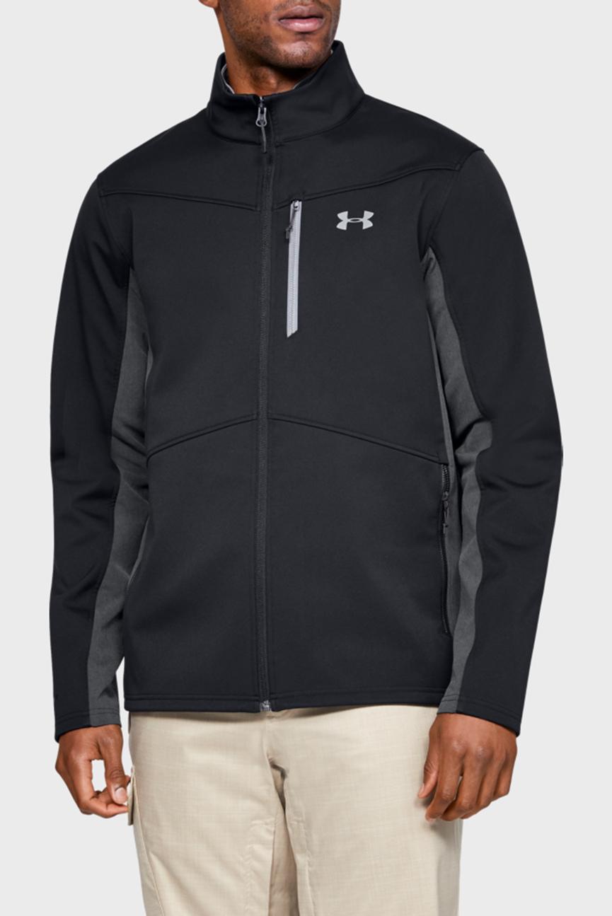 Мужская черная куртка FC Softshell