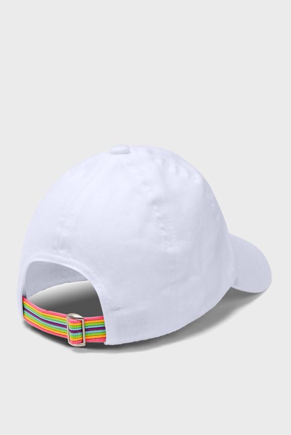 Детская белая кепка Girls Patch Armour Cap