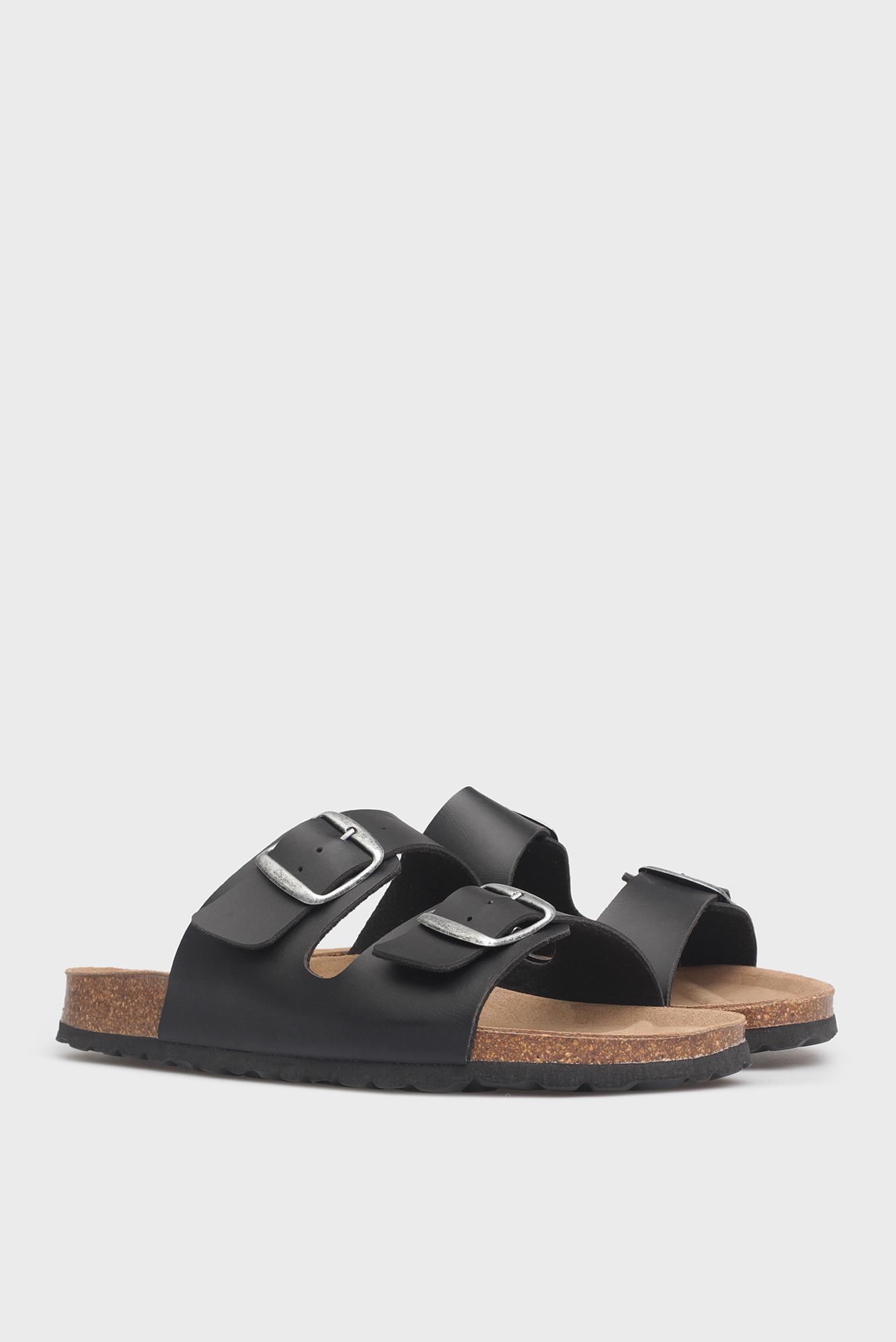 Купить Мужские черные сандалии Preppy Preppy 2.71.3195.449 – Киев, Украина. Цены в интернет магазине MD Fashion