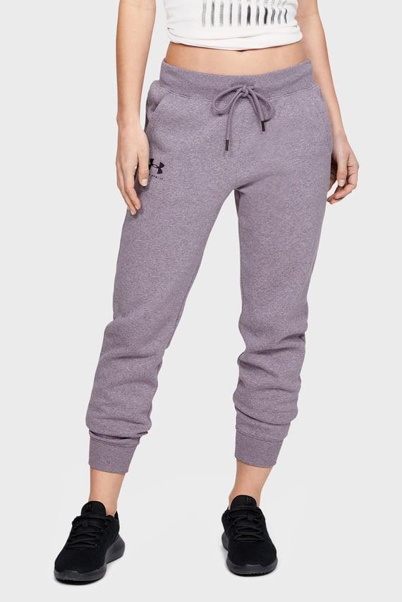 Женские серые спортивные брюки RIVAL FLEECE SPORTSTYLE GRAPHIC