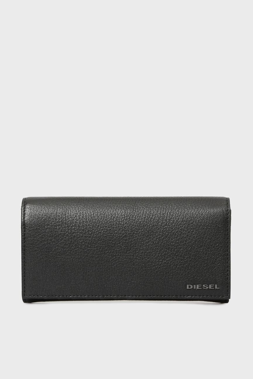 Мужской черный кожаный кошелек ARIANO