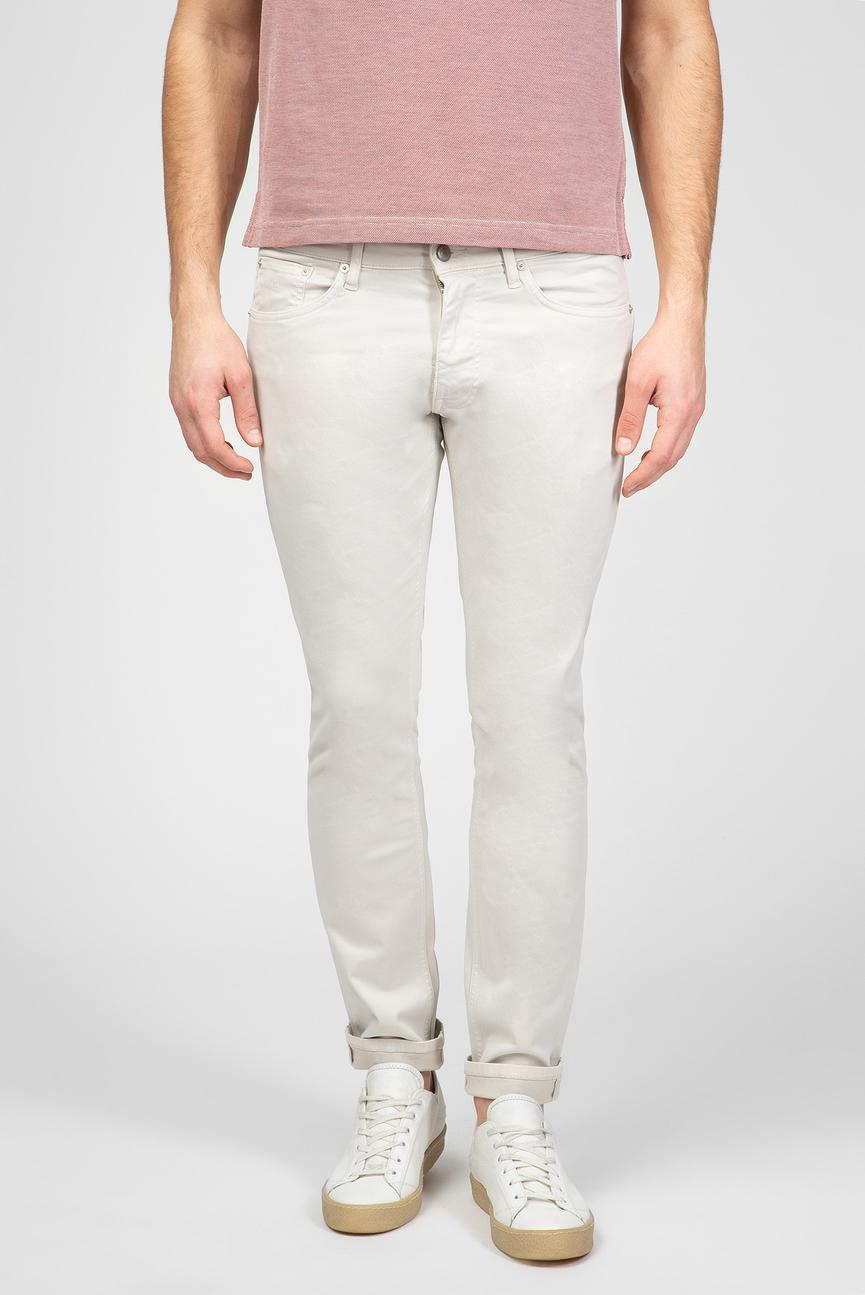 Мужские светло-бежевые брюки