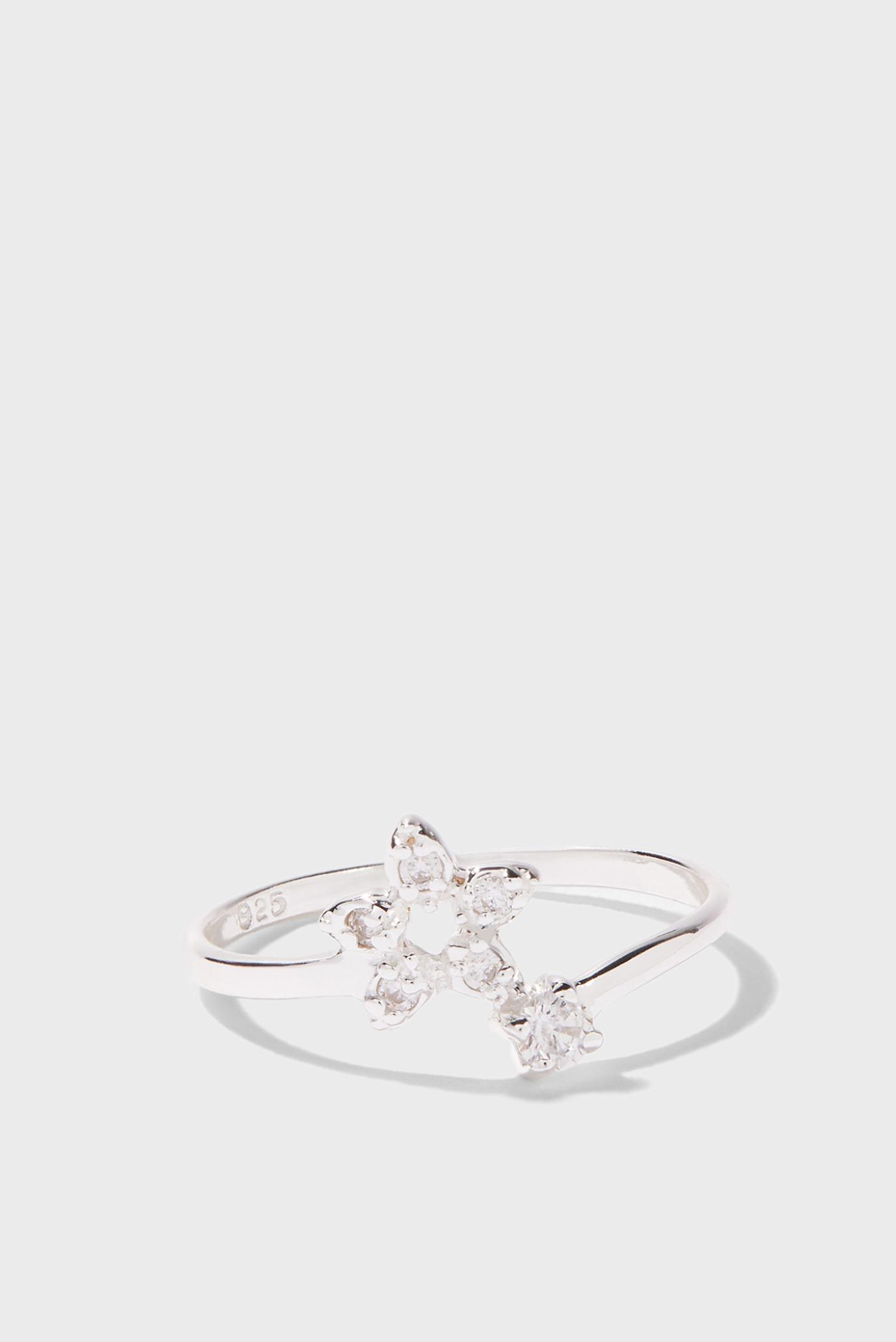 Жіноче срібний перстень ST SPARKLE STAR ADJU 1