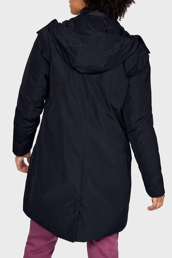 Женская черная куртка UA Unstoppable Down Parka