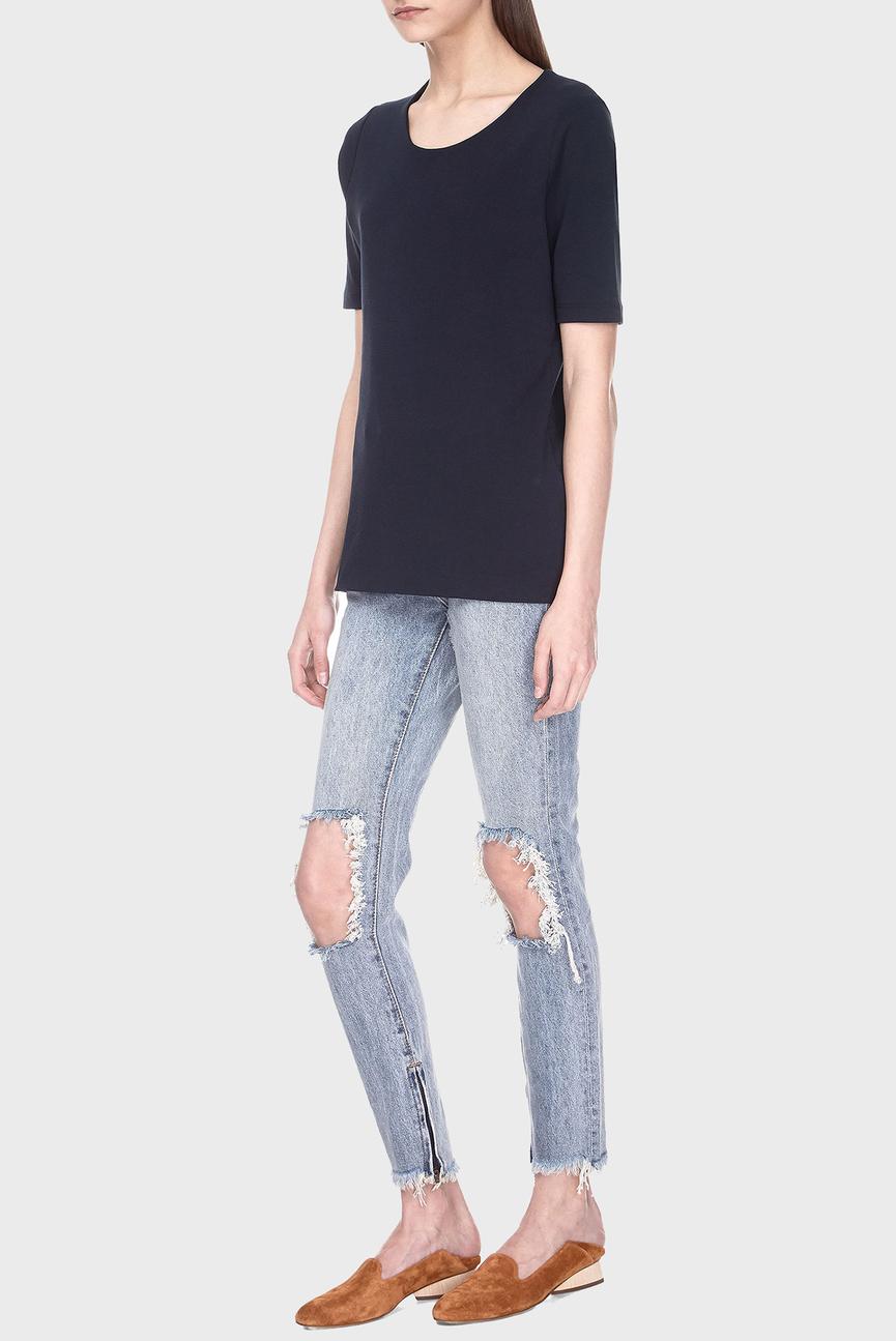 Женские голубые джинсы HIGH WAIST FREEBIRDS