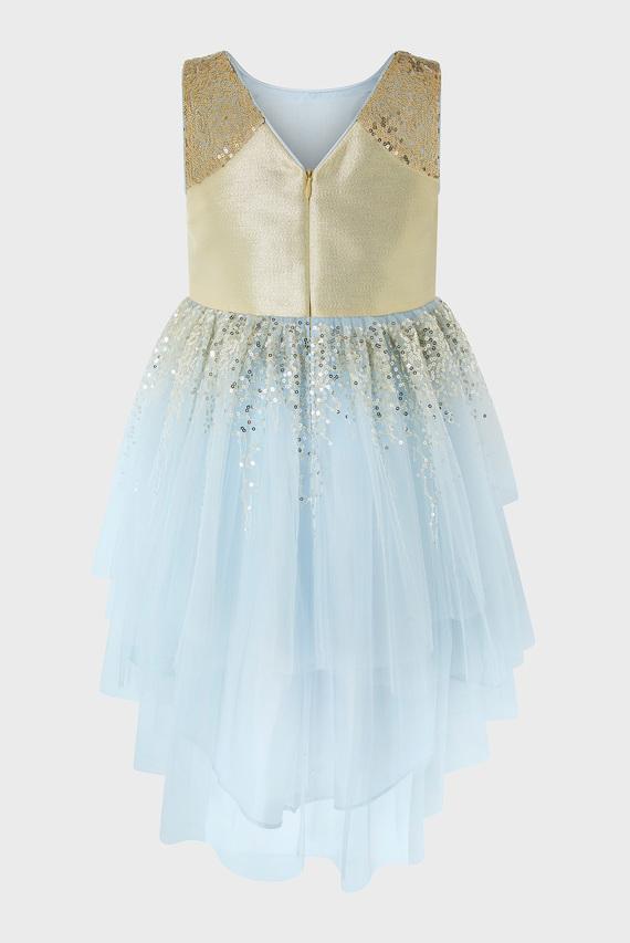 Детское голубое платье MARCIANA DRESS