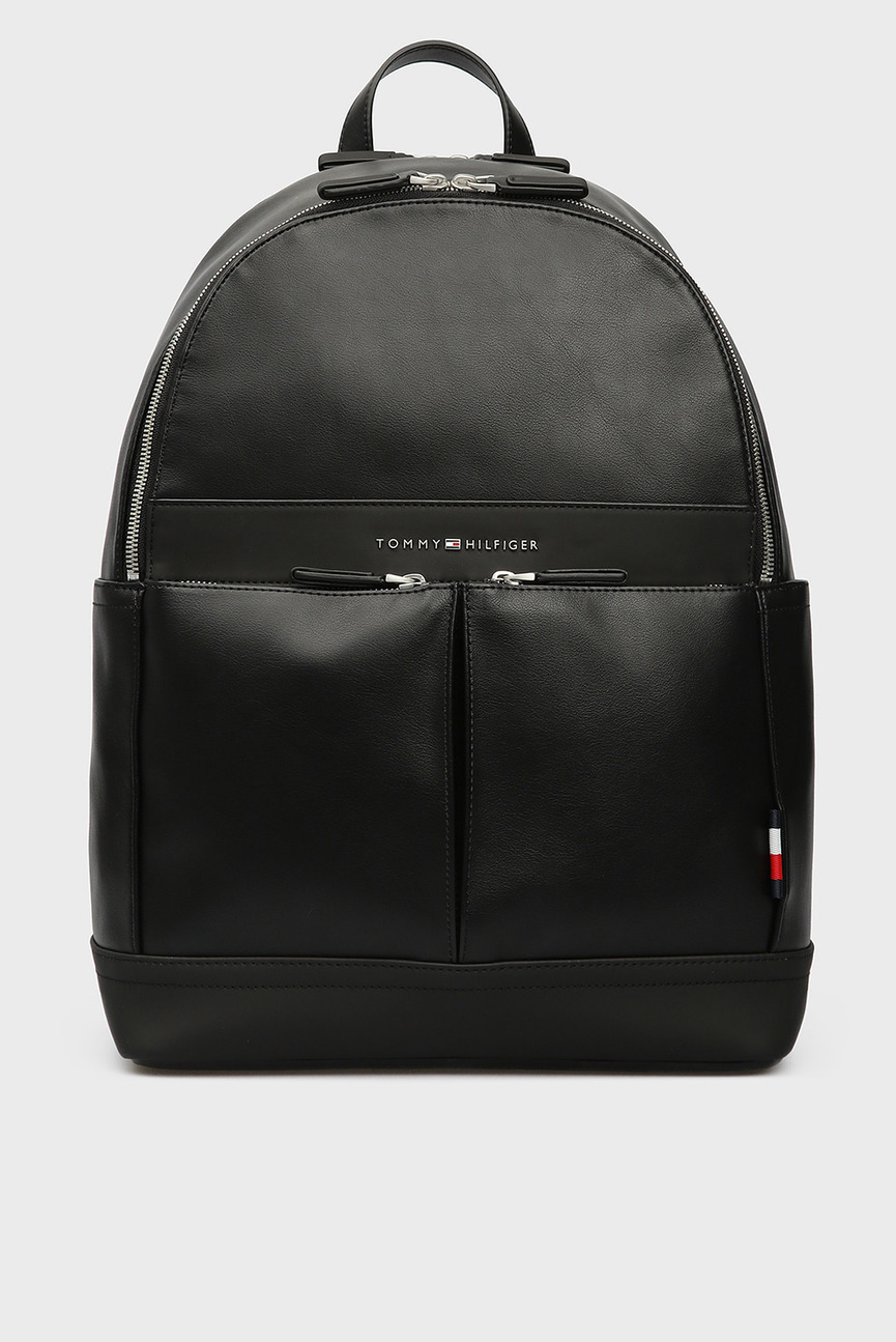 Мужской черный рюкзак TH CITY