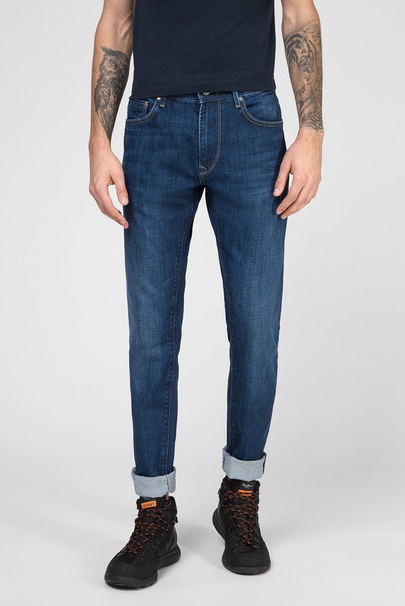 Мужские темно-синие джинсы STANLEY