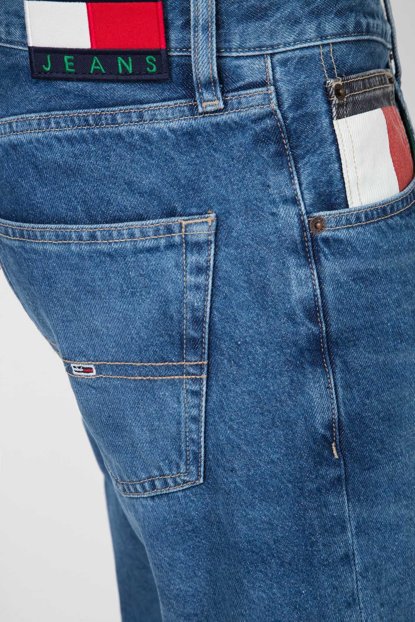 Мужские синие джинсовые шорты REY RELAXED Tommy Hilfiger