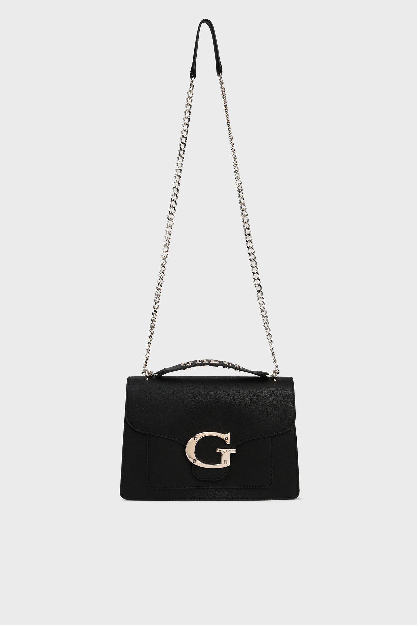 Женская черная сумка через плечо CAMILA CONVERTIBLE Guess