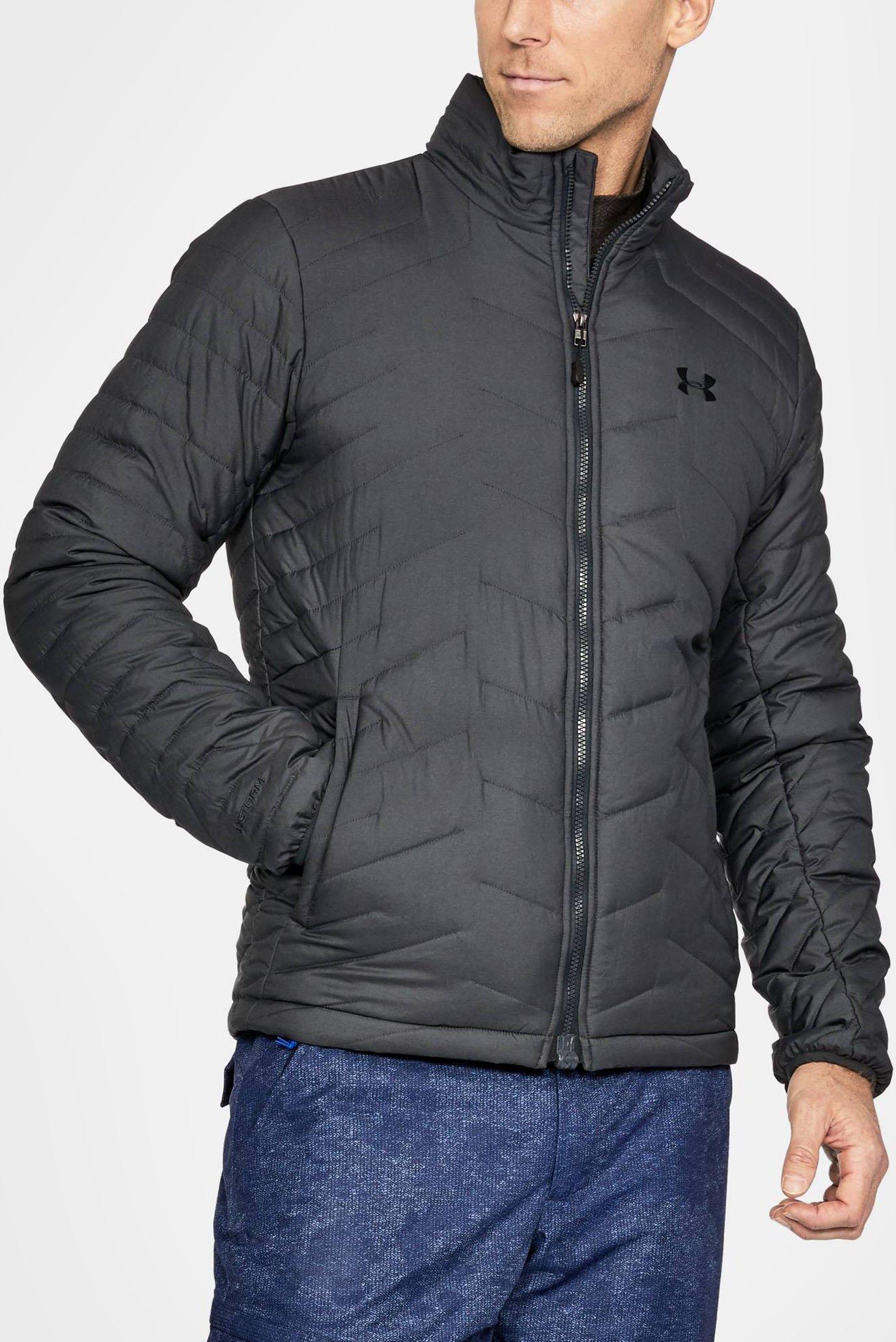 Чоловіча сіра куртка UA CGR Jacket 1