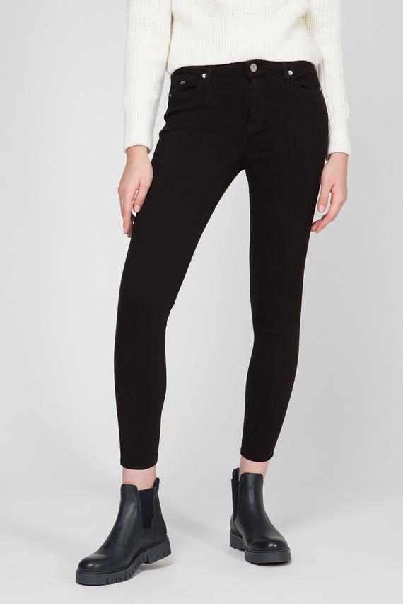 Женские черные джинсы NORA MID RISE SKINNY ANKLE