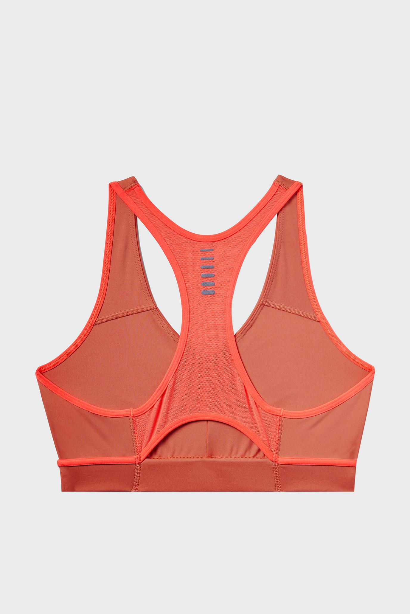 Женское оранжевое спортивное бра Qualifier Bra Under Armour