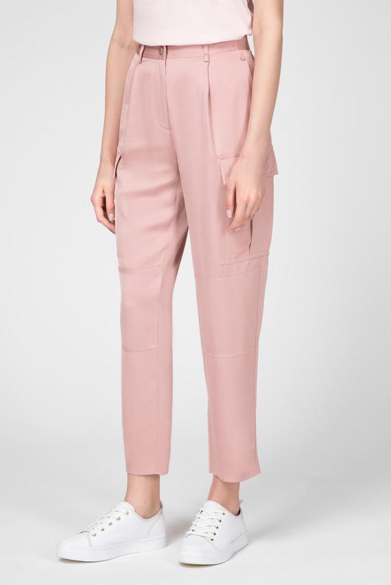Женские розовые карго
