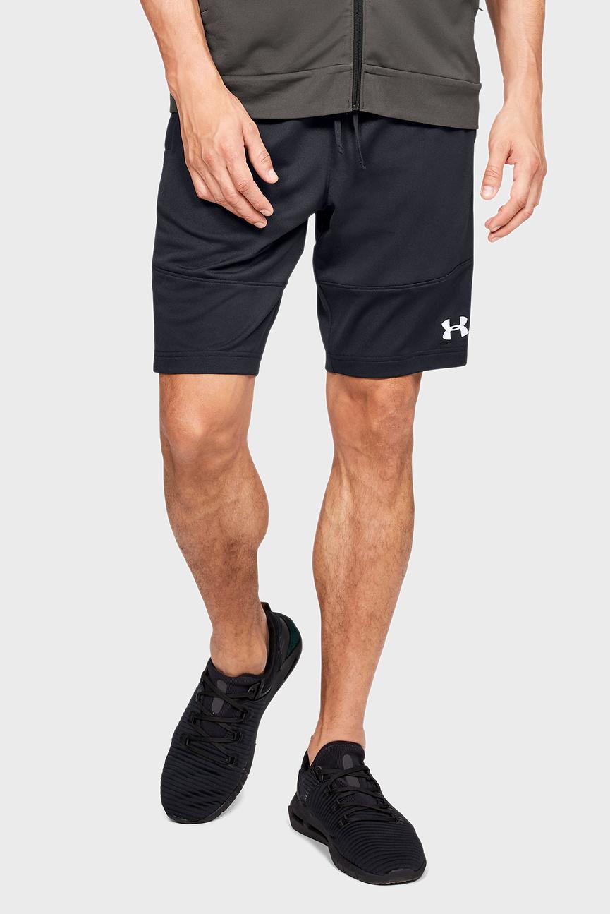 Мужские черные шорты SPORTSTYLE PIQUE
