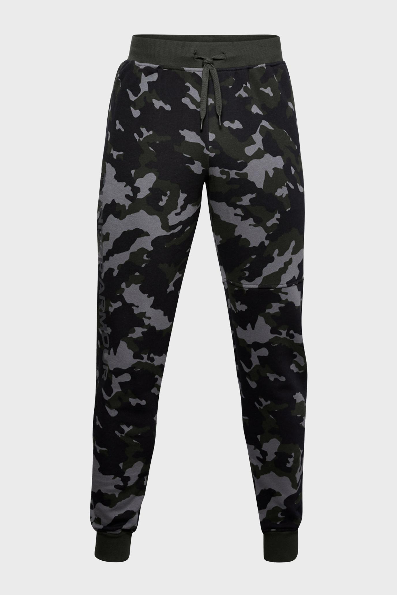 Чоловічі спортивні штани UA Rival Fleece Camo Joggers 1