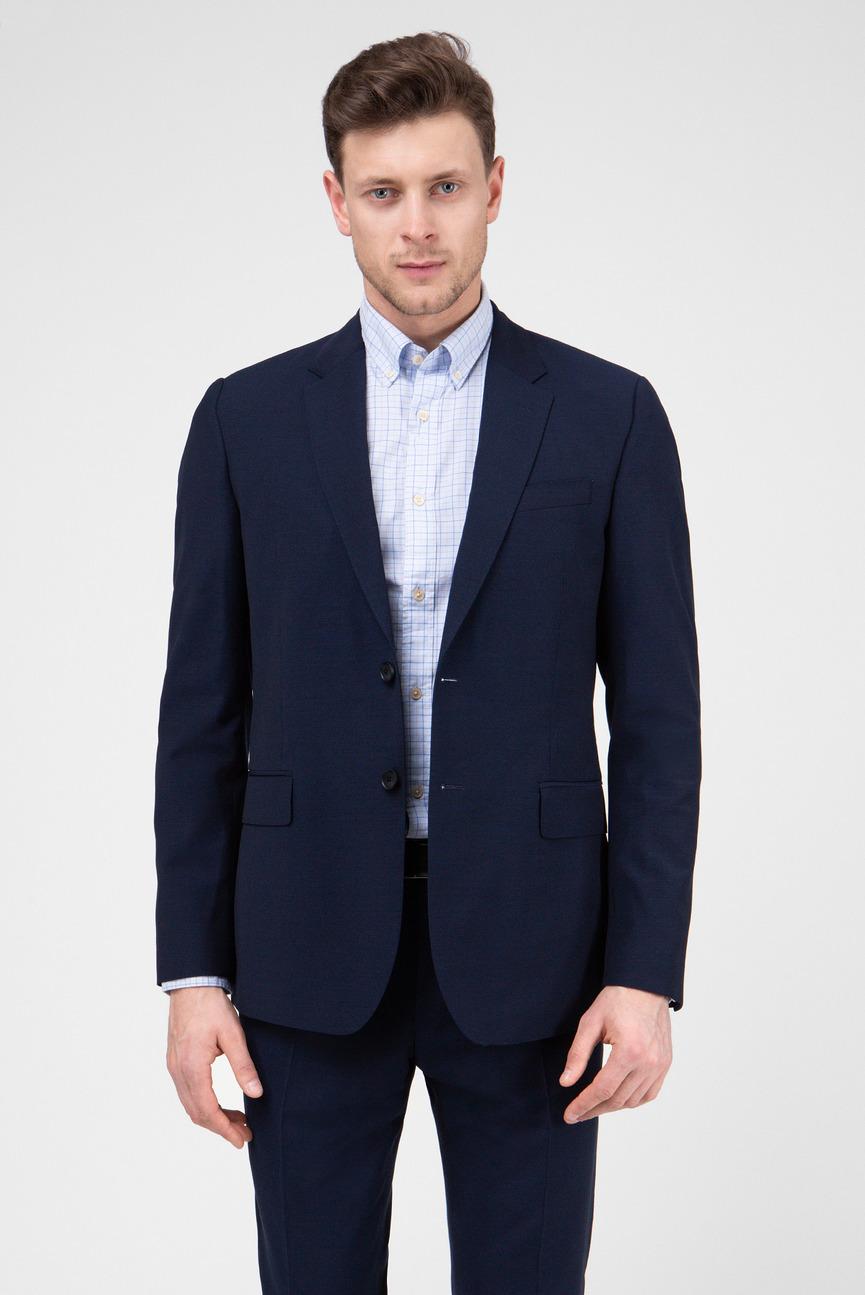 Мужской темно-синий пиджак TRAVELER