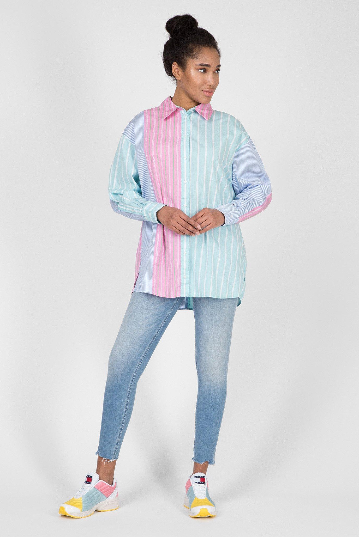 Женская рубашка в полоску TJW MULTICOLOR STRIPE Tommy Hilfiger
