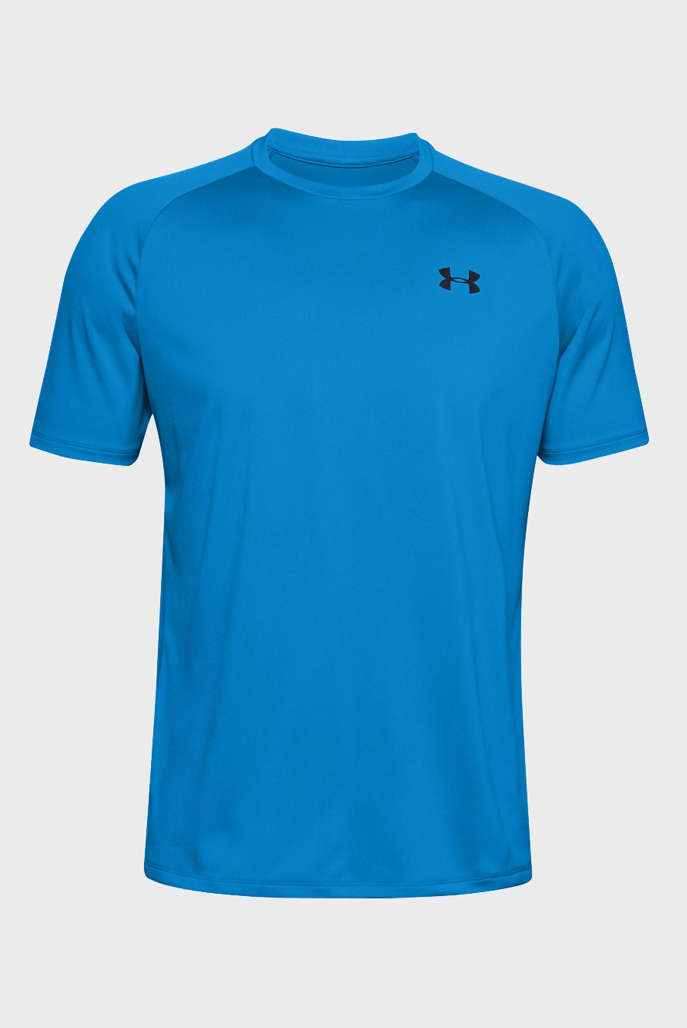 Чоловіча синя футболка UA Tech 2.0 SS Tee 1