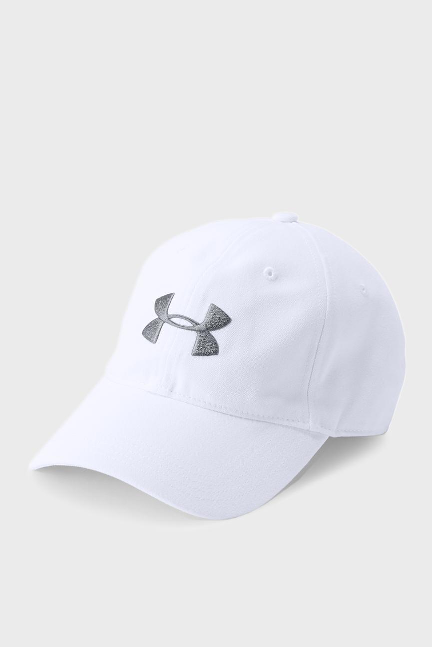 Мужская белая кепка Core Canvas Dad Cap