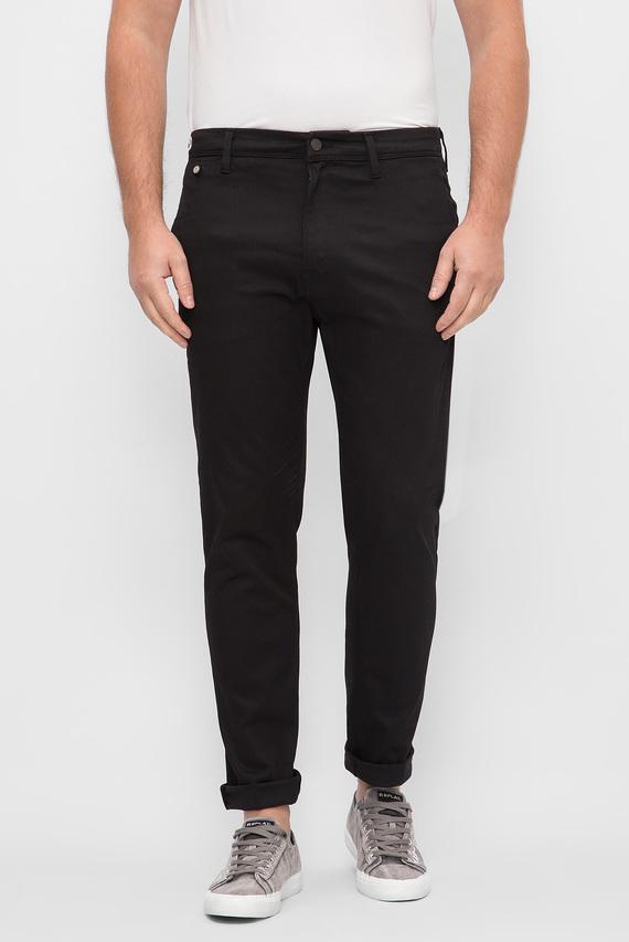 Мужские черные джинсы BRERRY