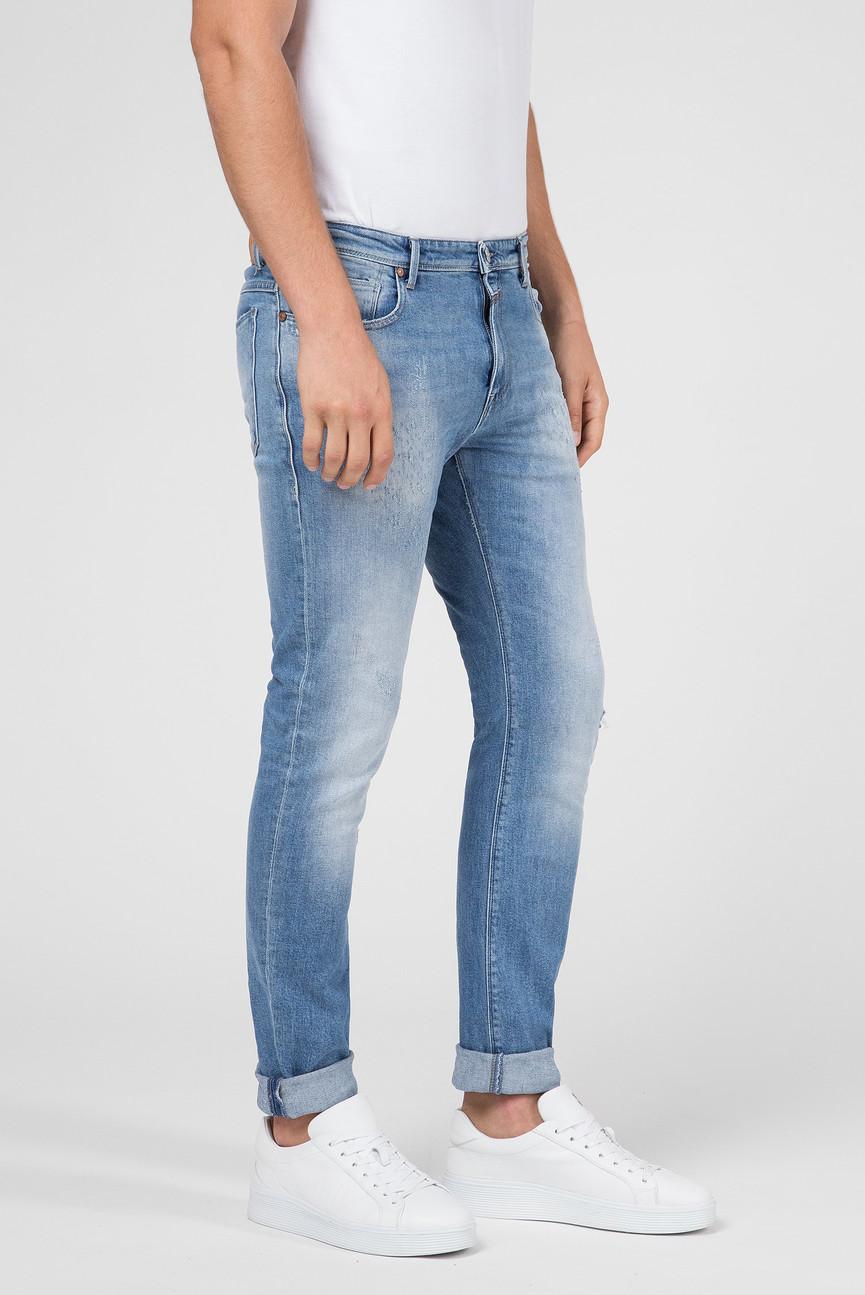 Мужские голубые джинсы UNITY CRAFTED