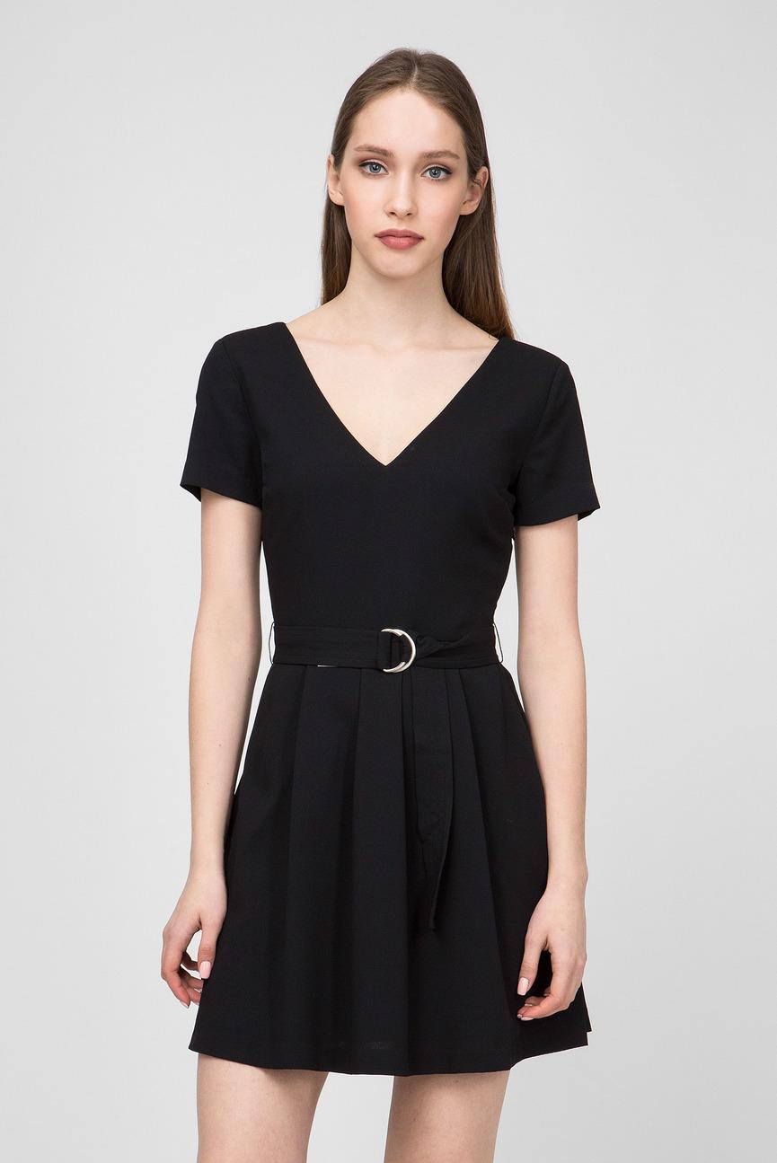 Женское черное платье AINA