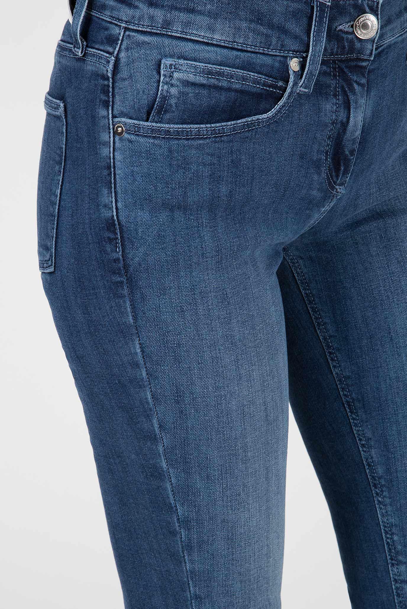 Купить Женские синие джинсы SKINNY Calvin Klein Calvin Klein K20K200601 – Киев, Украина. Цены в интернет магазине MD Fashion