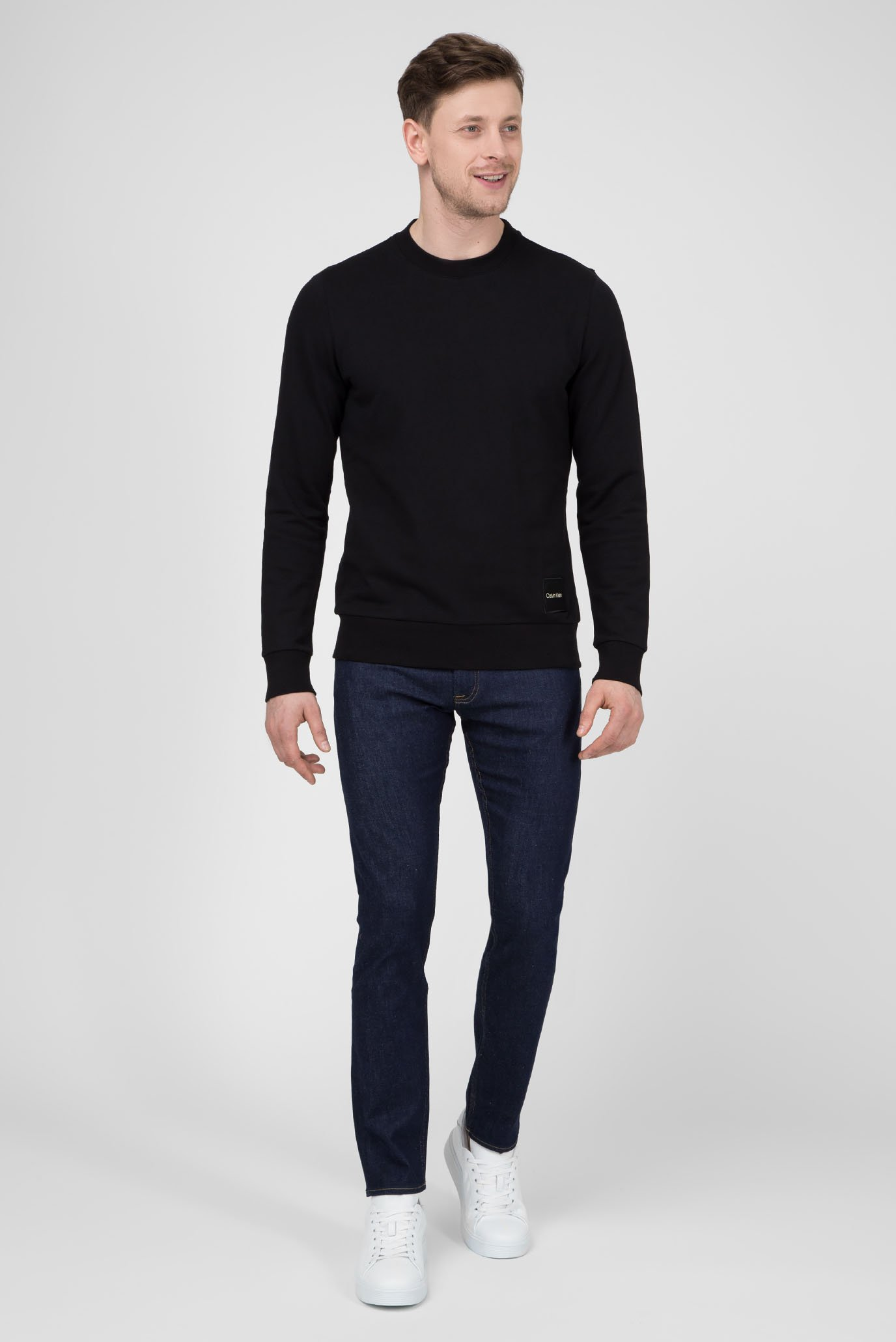 Мужские темно-синие джинсы SLIM FIT Calvin Klein