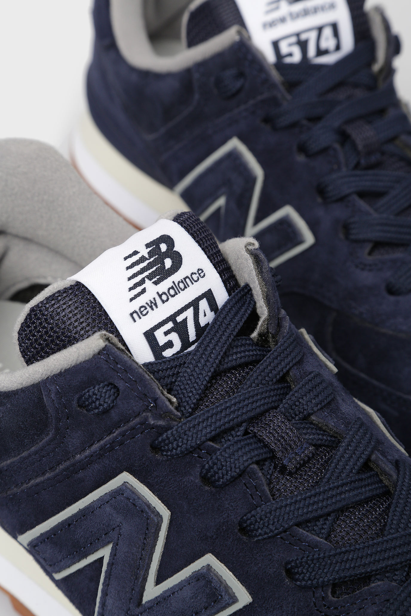 Купить Мужские синие замшевые кроссовки 574 New Balance New Balance  ML574EPA – Киев, Украина. Цены в интернет ... 371523b8ab7