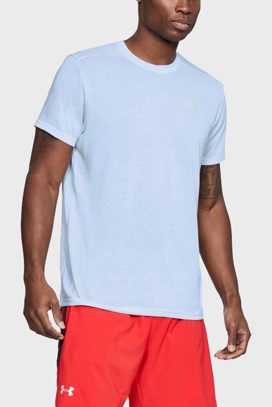 Мужская белая футболка Threadborne Streaker SS